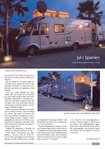 Jul i Spanien - Dansk Autocamper Forening