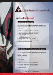 Laying Equipment - CCC (Underwater Engineering)