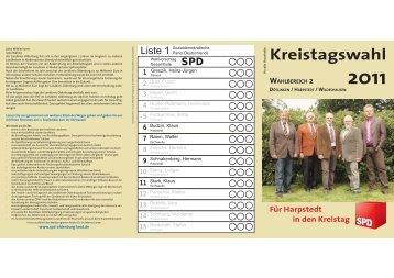 Kreistagswahl - SPD Harpstedt