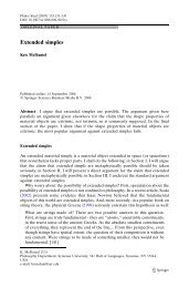 Extended simples - Kris McDaniel - Syracuse University