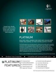 PLATINUM FEATURES - Security