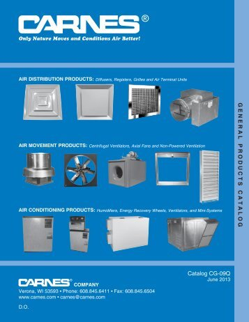 general catalog 06-2013.indd - Carnes Company