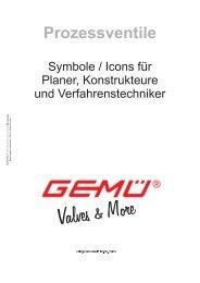 Prozessventile - Symbole/Icons für Ingenieure, Planer und ... - Gemü