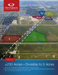 ±230 Acres—Divisible to 5 Acres - NewQuest Properties