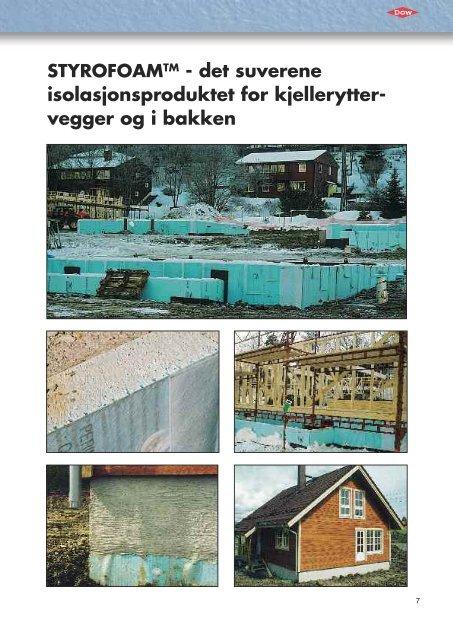 UTVENDIG ISOLERING AV KJELLERVEGG - Glava