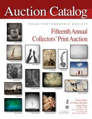 Auction Catalog - Texas Photographic Society