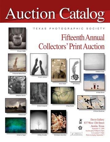 Auction Catalog - Texas Photographic Society