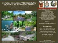 Dinámica hidrológica y caudal natural del rio Ayuquila-Armería