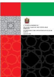 united arab emirates 1 national report on