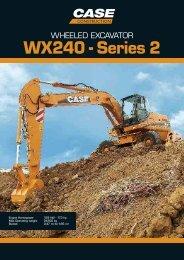 WX240 - Series 2 - Case Construction