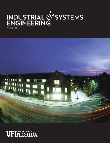 Fall, 2008 - Department of Industrial and Systems Engineering