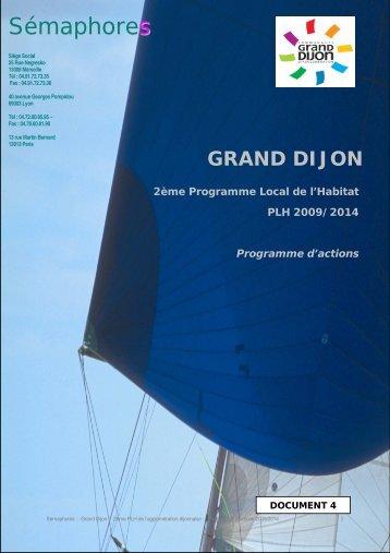 Programme d'actions - le Grand Dijon