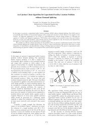 An Ejection Chain Algorithm for Capacitated Facility Location ...