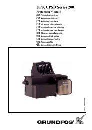UPS, UPSD Series 200 - Grundfos