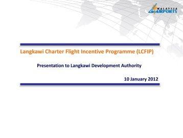 Langkawi Charter Flight Incentive Programme (LCFIP)