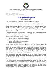 Foto-Wettbewerb - Bundesverband des Schornsteinfegerhandwerks