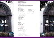 Kirchenführer zur Jesus-Christus-Kirche Meinerzhagen