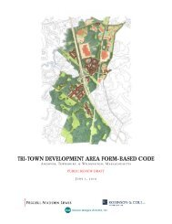 tri-town development area form-based code - Town of Wilmington