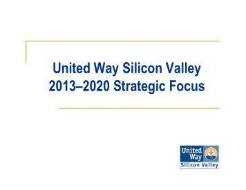 Community Meeting Presentation - United Way Silicon Valley