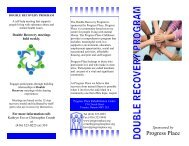 Double Recovery Brochure