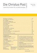 Die Christus-Post - Christliche Post - Seite 3