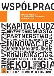 Strategia Rozwoju Województwa Małopolskiego na lata 2011-2020
