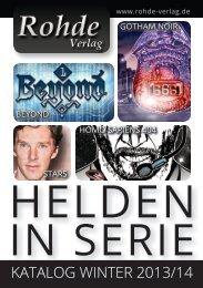 KATALOG WINTER 2013/14 - Helden in Serie