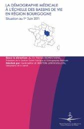 Atlas 2011 de la région Bourgogne - Conseil National de l'Ordre des ...