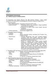 PENGUMUMAN PENGADAAN No. 150400.Peng/LG.01.00/SBU1LA ...