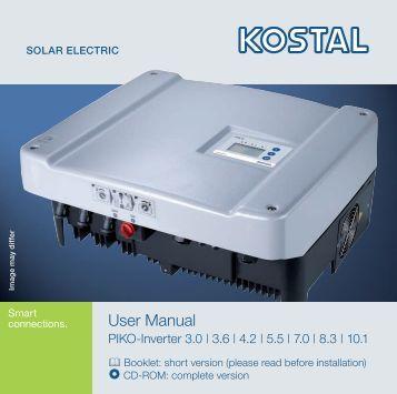 User Manual - AS Solar Italia