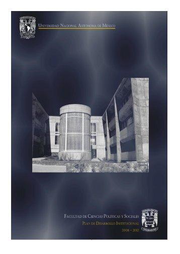 Facultad de Ciencias Políticas y Sociales - Dirección General de ...