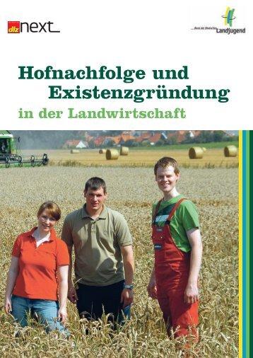 Hofnachfolge und Existenzgründung - Bund der Deutschen ...