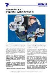 MACS-R Dispatcher System - Connex Telecom