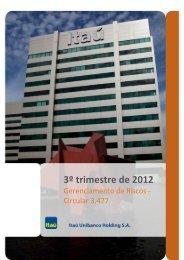 Circular 3.477 - Relações com Investidores - Banco Itaú
