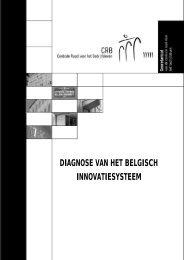 Diagnose van het Belgische innovatiesysteem - Centrale Raad voor ...