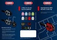 Organigrammes ABUS Nouveau: Combi Cap 2 têtes de clé pour ...