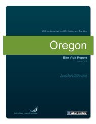 ACA Implementation-Monitoring and Tracking ... - State Refor(u)
