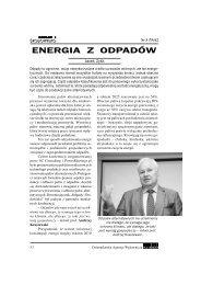 Jacek Zyśk, Odpady i Środowisko nr 3 - SC Consulting