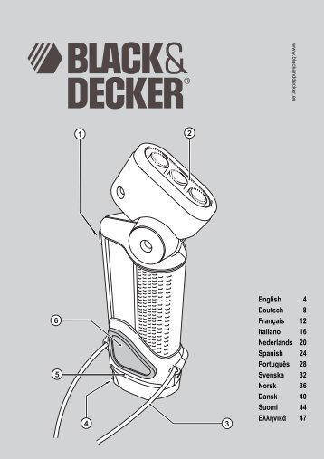 VPX1401X EUR.book - Servicio - Black & Decker
