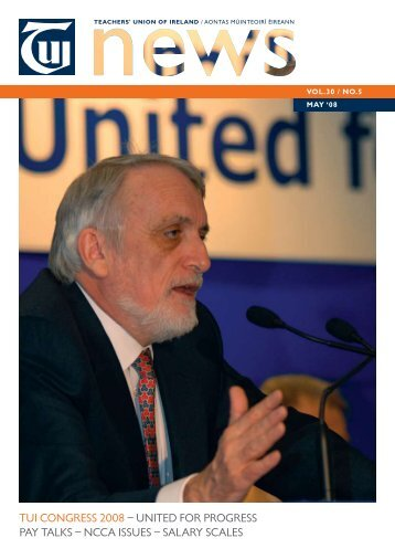 TUI CONGRESS 2008 – UNITED FOR PROGRESS PAY TALKS ...