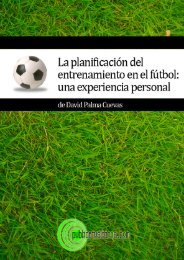 La planificación del entrenamiento en el fútbol - Publicatuslibros.com