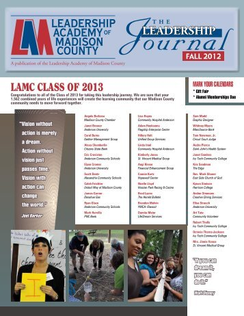 leadership leadership academy madison county - Anderson University