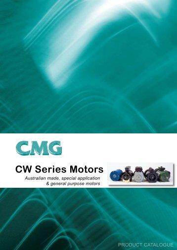 CW Series Motors - ACP & D, Ltd.