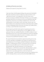 Zu Politik und Theorie der neuen Linken - Wolfgang Fritz Haug