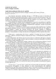 Procedimento fine lavori - SUAP - Comune di Faenza