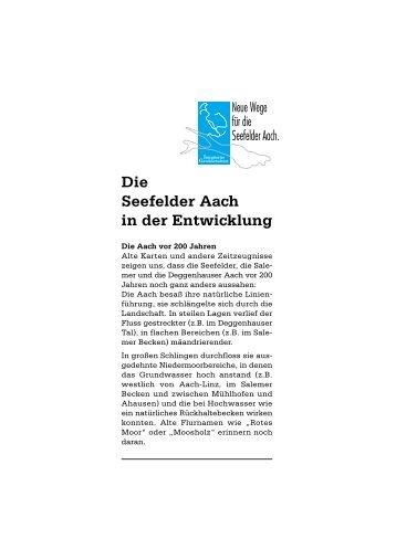 """""""Die Seefelder Aach in der Entwicklung"""" (download, pdf, 175 kb)"""