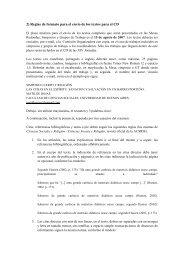 2) Reglas de formato para el envío de los textos para el CD