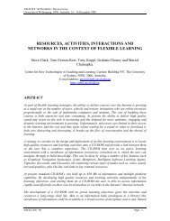 resources, activities, interactions and networks in the context of ...