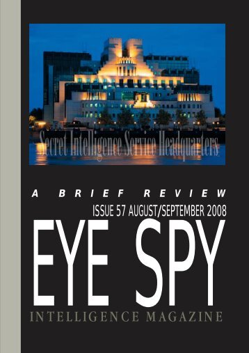 contents 57 - Eye Spy Intelligence Magazine