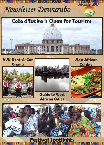 Newsletter Dewurubo - Ghana Tours | Ghana Holiday | Tour Ghana